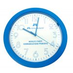 MIDCLOCK - Midland Logo Blue Wall Clock With Second Hand