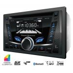 PCD52B - Power Acoustik 2 Din 300 Watt 4 Channel Card & Mp3 Am/Fm Receiver