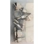 MLPL9 - Crimp PL259 For RG8X Coax (5/Pkg)
