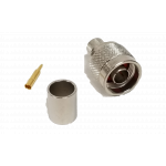 N019913C - ProComm Male N Connector For 9913 Belden Coax