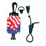 MH9USA - Hammerhead Retractable Microphone Keeper Stars & Stripes