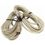 PR18SD8X - ProComm 18' Co-Phase Rg8X Coax Cable (Clear) Pl259 On All Ends