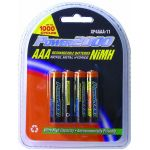 "XP4AAA 4 Pack​ ""AAA"" Nickle Metal Hydride Rechargeable Batteries​"