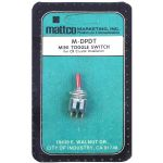 MATTCO DPDT - Mini Toggle Switch