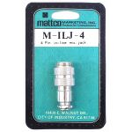 MILJ4 - Mattco 4 Pin In-Line Microphone Jack