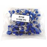 "RT38 - Twinpoint 3/8"" Ring Terminal 16-14Awg (100 Pack)"