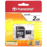 TS2GUSD - Transcend 2 GB Micro SD Flash Memory Card