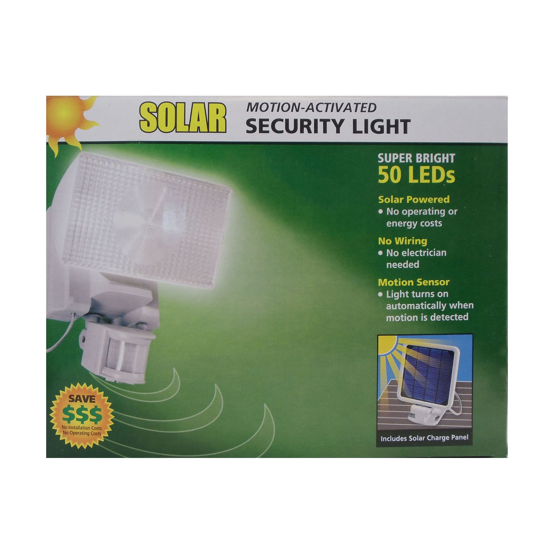 Admirable Clearance Items Maxsa Solar Motion Activated 50 Led Security Wiring 101 Archstreekradiomeanderfmnl