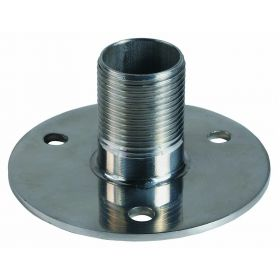 "4710 - Shakespeare Stainless Steel Flange Mount Low Profile 1 1/2"" High"