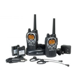 GXT1000VP4 - Midland 50 Channel Handheld GMRS Radios
