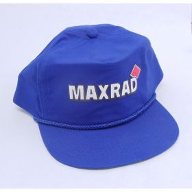 MAXHAT-BL - Maxrad Logo Cap In Royal Blue