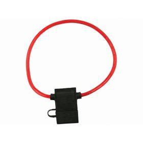 "0969X - Pico 12"" Red 8 Gauge 60 Amp Maxi Fuse Holder (Bulk)"