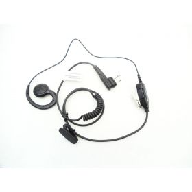 HKLN4604 - Motorola Swivel Earpiece Inline PTT Microphone For Rdx Radios