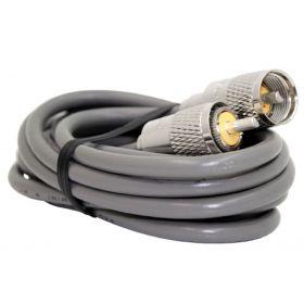 PP8X75 - ProComm 75' RG8X Coax Cable W/PL259s