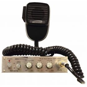 PAT20 - Speco Mobile PA Amplifier With Microphone 20 Watt 12V