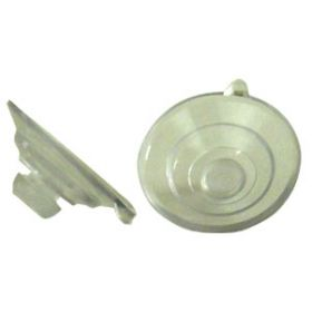 RMRSC-CL - Rocky Mountain Radar Replacement Suction Cup 3 Pcs  (Clear)