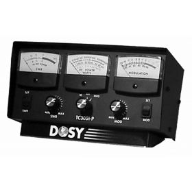TC3001P - Dosy Inline SWR Watt Modulation Meter