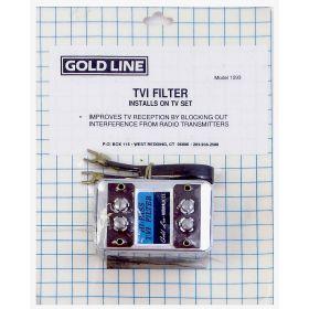 1093 - Goldline Tvi High Pass Filter for Reducing Tv Radio Interference