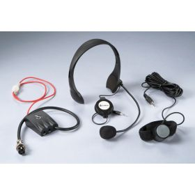 CAMS4 - Cobra Hands Free Noise Canceling CB Microphone
