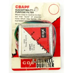 CBAPF - 12-24 VDC 5 Amp In Line Noise Filter