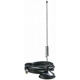 CMT800 - Hustler 5/8 Wave Black Cellular Magnetic Antenna W/ Tnc Connector