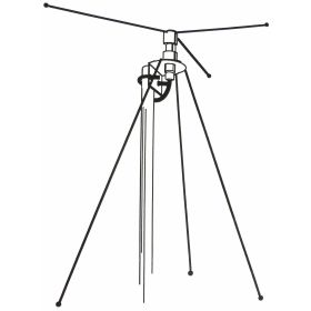 DCX - Hustler 40-666 MHz Discone Base Station Scanner Antenna