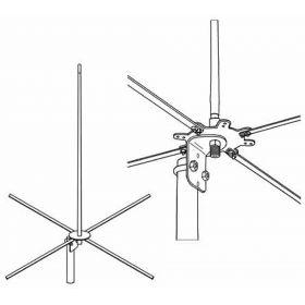 RRBASE - Firestik RailRoad Base Station Antenna Kit