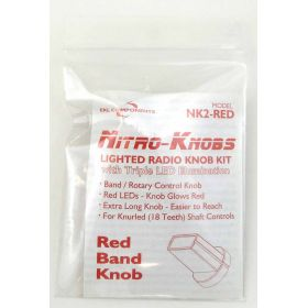NK2-R - EKL Nitro Knob For Band Switch (Red)