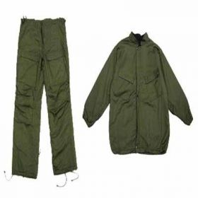 "UNIFORM-XS - Green Military ""Chemical Suit"" Extra Small (1060)"