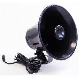 KPA5-B -Black Plastic PA Horn