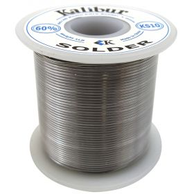 KS10 - Kalibur 60/40 Rosin Core 19 Gauge Solder 1.0mm (1 Lb Spool)